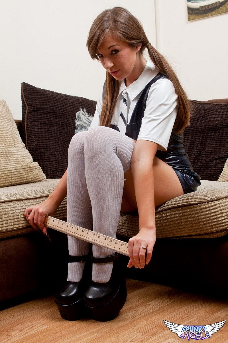 image Cate harrington schoolgirl solo